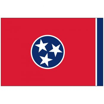 Outdoor Tennessee State Flag