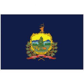 Outdoor Vermont State Flag