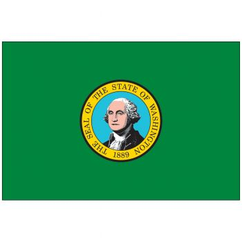 Outdoor Washington State Flag