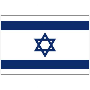 Outdoor Israel Flag