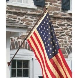All American Series House Mounted Flagpoles