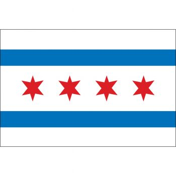 Chicago IL Flag