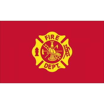 Outdoor Nylon Fire Department Flag