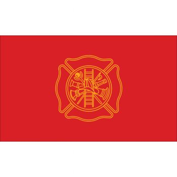 Outdoor Nylon Fire Fighters Flag