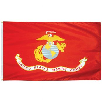 Outdoor US Marine Corps Flag