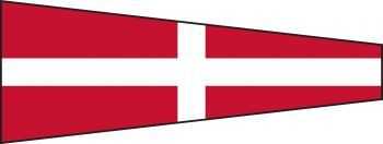 4 - Number 4 Code Flag With Toggle