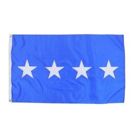 Outdoor US Air Force Four-Star General Flag