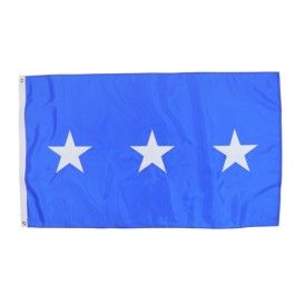 Outdoor US Air Force Lieutenant General Flag