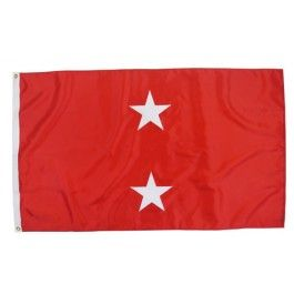Outdoor US Marine Corps Major General Flag