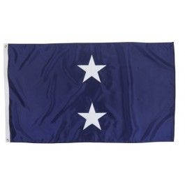 Outdoor US Navy 2 Star Admiral Flag