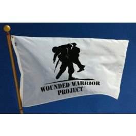 3' x 5' Wounded Warrior Flag